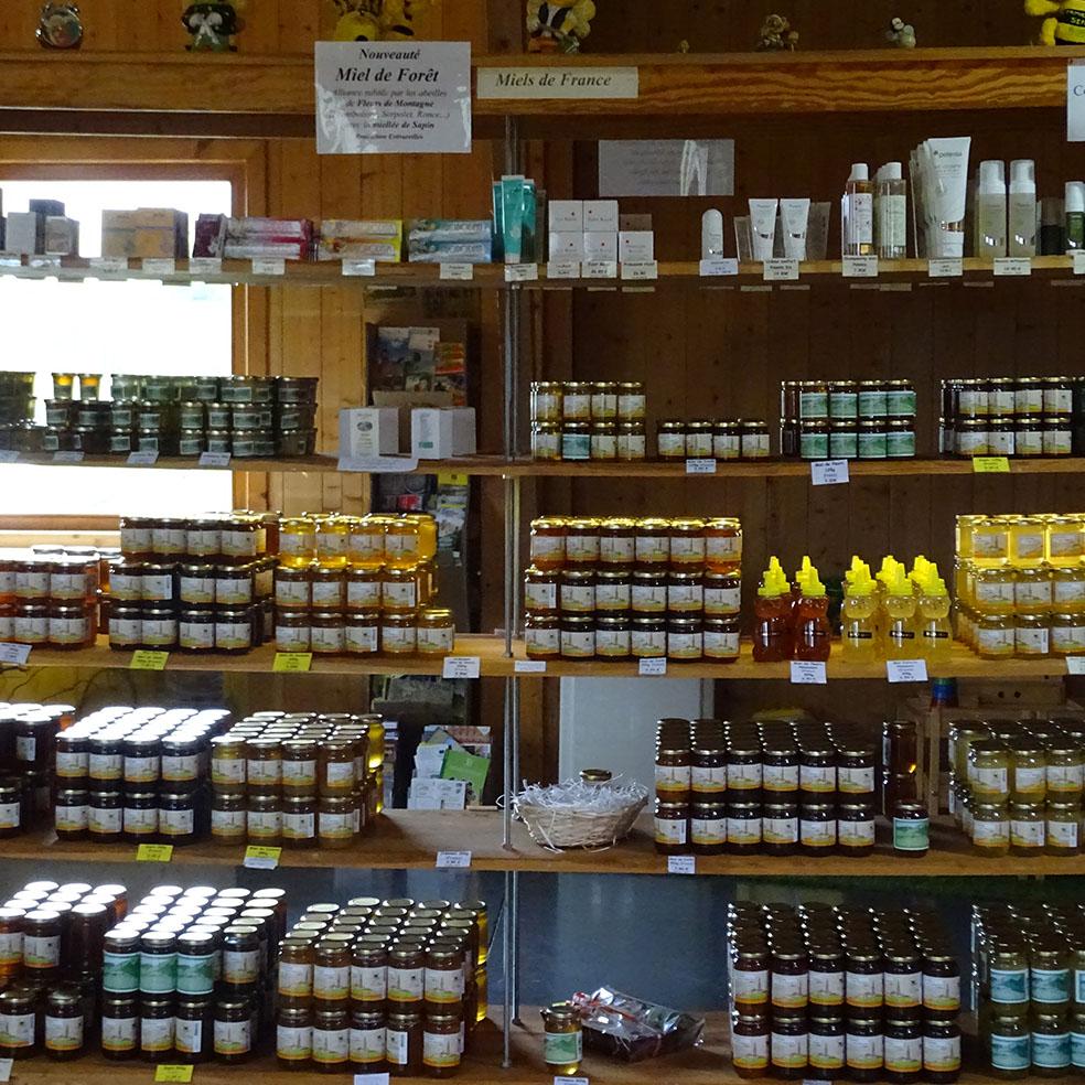 boutique miellerie grange aux abeilles estivareilles
