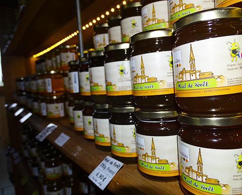 vente en ligne miel la grange aux abeilles estivareilles